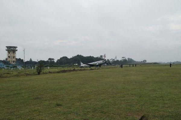 Bandara Jenderal Besar Soedirman di Purbalingga, Jawa Tengah akan dikembangkan menjadi bandara komersial . - Bisnis/Rivki Maulana