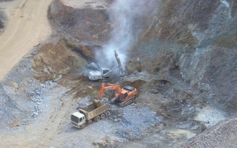 Penambangan PT Kapuas Prima Coal Tbk. - Istimewa