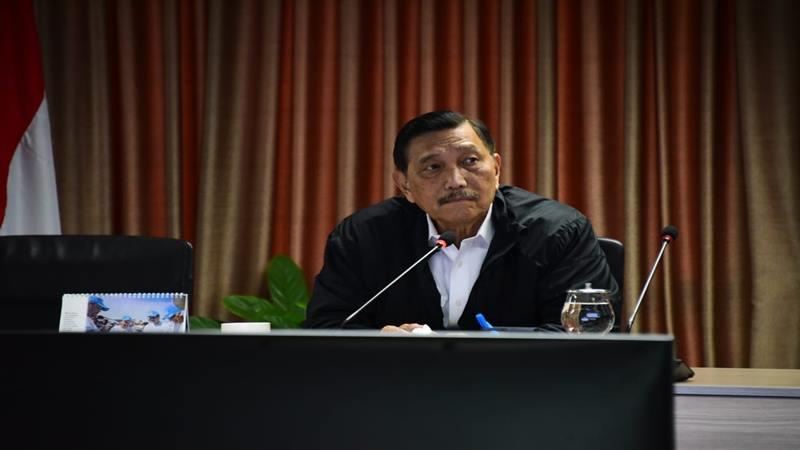 Menteri Koordinator Bidang Kemaritiman Luhut Binsar Panjaita. JIBI/Bisnis - Wisnu Wage