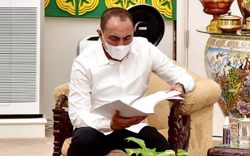 Gubernur Sumatra Utara Edy Rahmayadi - Istimewa