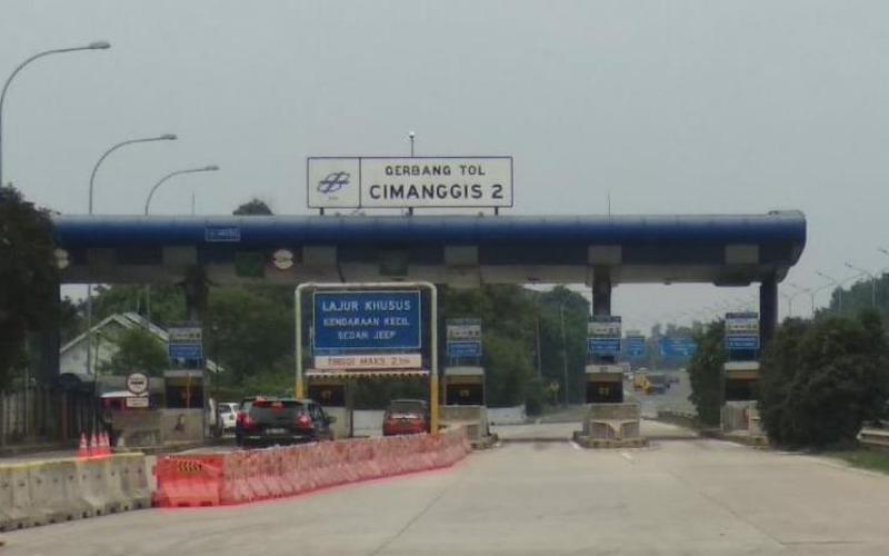Gerbang Tol Cimanggis 2, ruas tol Jagorawi - Jasa Marga