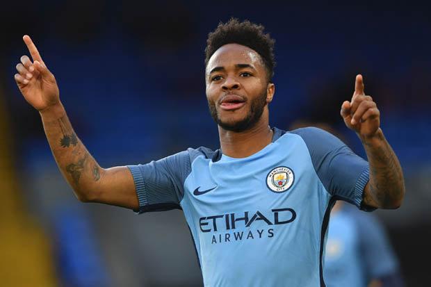 Pemain sayap Manchester City, Raheem Sterling - Daily star