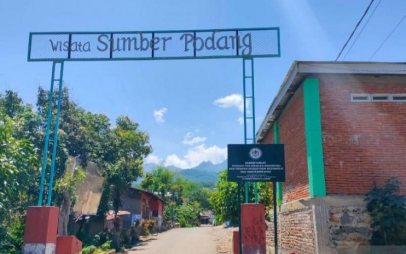 Lokasi wisata Sumber Podang Desa Joho, Kecamatan Semen, Kabupaten Kediri, Jawa Timur.  - Antara Jatim