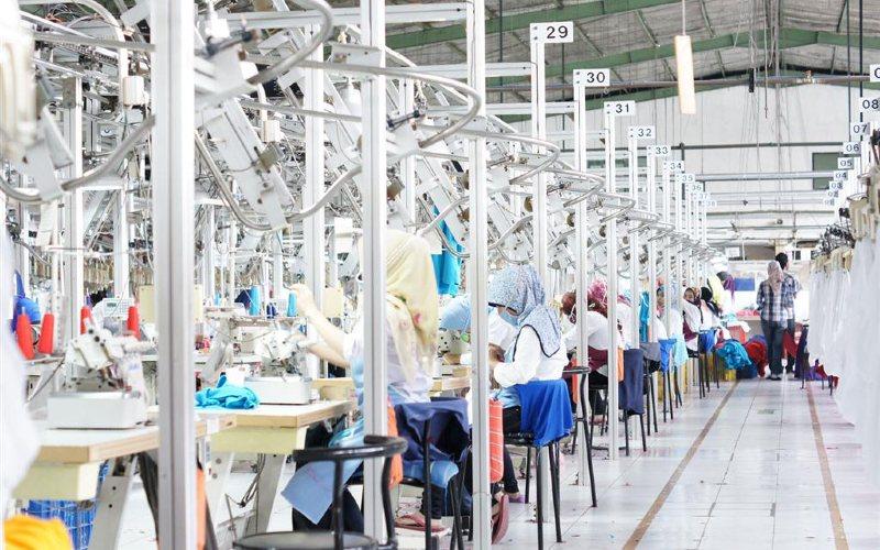Sewing process. Pan Brother