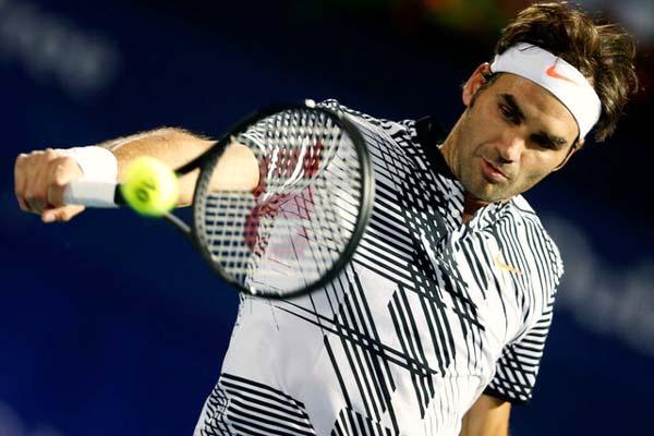 Petenis Swiss Roger Federer/Reuters - Ahmed Jadallah