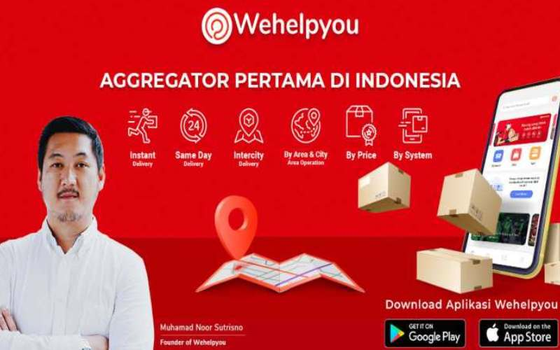 Wehelpyou Gandeng Banyak Mitra Terpercaya di Indonesia. / Istimewa