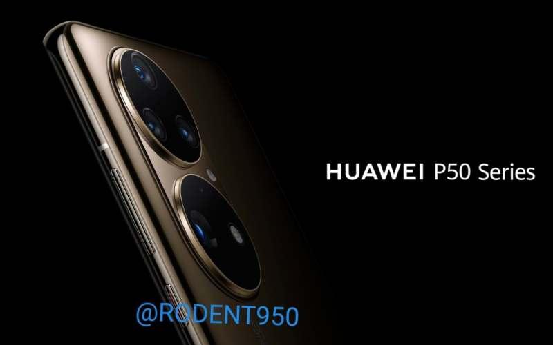 Bocoran penampakan Huawei P50 Series. - GSM Arena