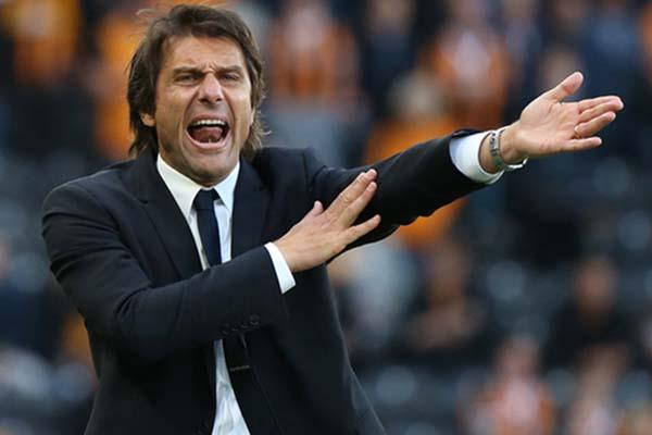 Mantgan pelatih Inter Milan Antonio Conte. - Reuters