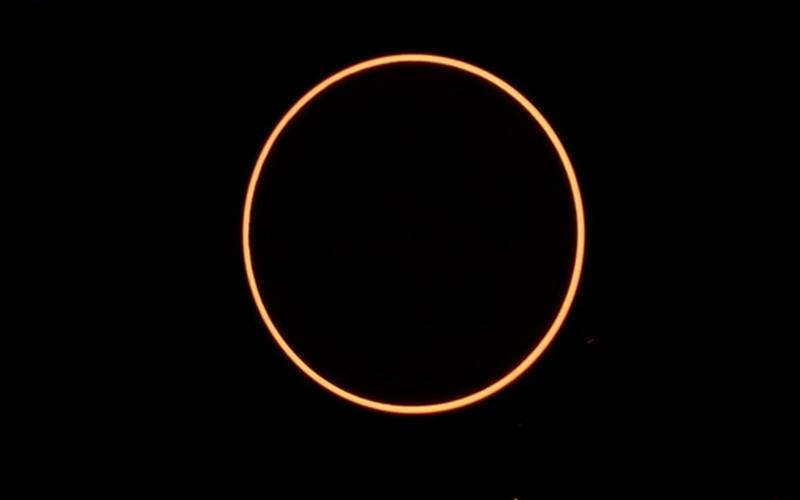 Gerhana Matahari Cincin. - BMKG