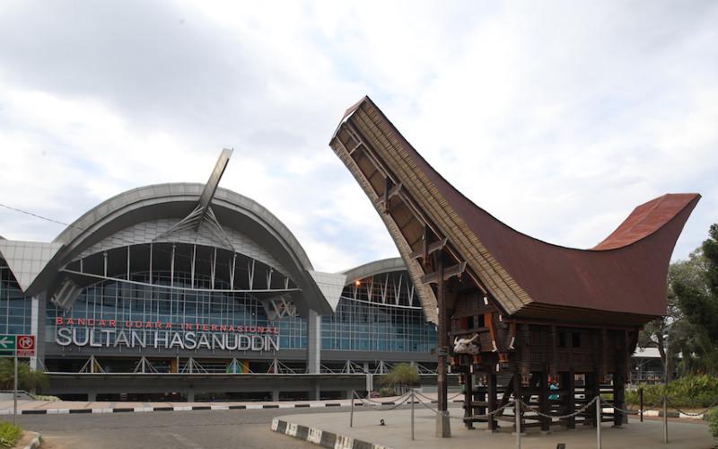 Bandara Sultan Hasanuddin Makassar.  - Kementerian BUMN