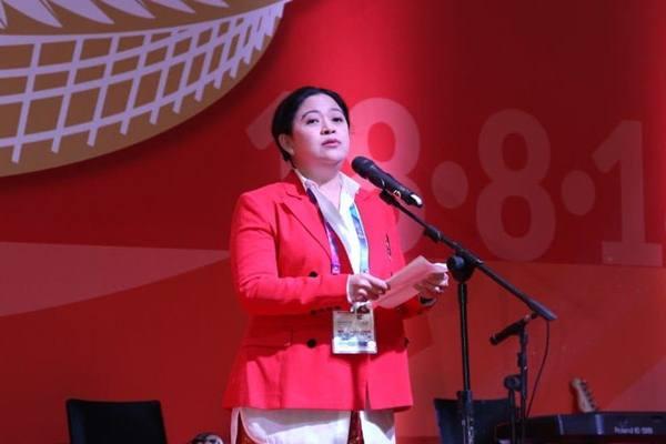 Politikus Partai Demokrasi Indonesia (PDI) Perjuangan Puan Maharani. - Dok.Kemenko PMK