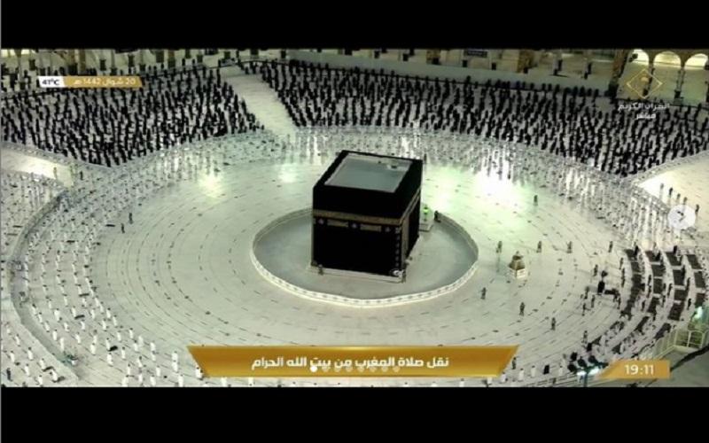 Ilustrasi Ibadah Haji 2021 - Instagram: Haramain Info