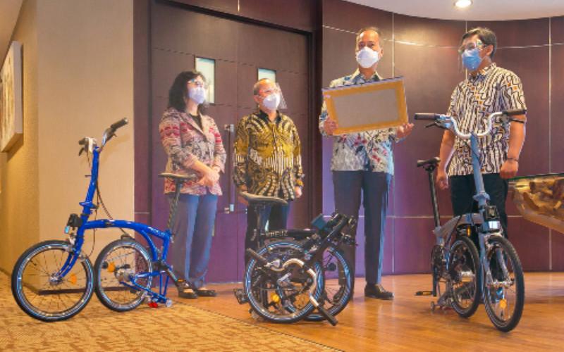 PT Kreuz Bike Indonesia selanjutnya dapat mendaftarkan Tingkat Komponen Dalam Negeri (TKDN) produknya.  - Kemenperin