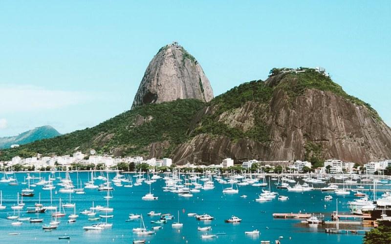 Destinasi wisata di Botafogo, Rio de Janeiro.
