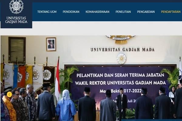Situs Universitas Gadjah Mada (UGM) - ugm.ac.id