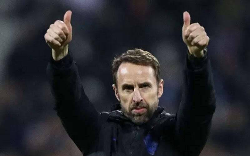 Pelatih Timnas Inggris Gsreth Southgate/Antara - Reuters