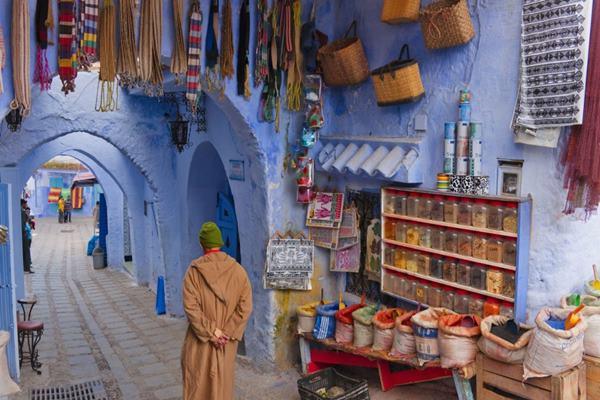 Ilustrasi - Sudut kota Maroko - themuslimvibe.com