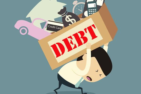 Ilustrasi utang pinjaman online - Istimewa