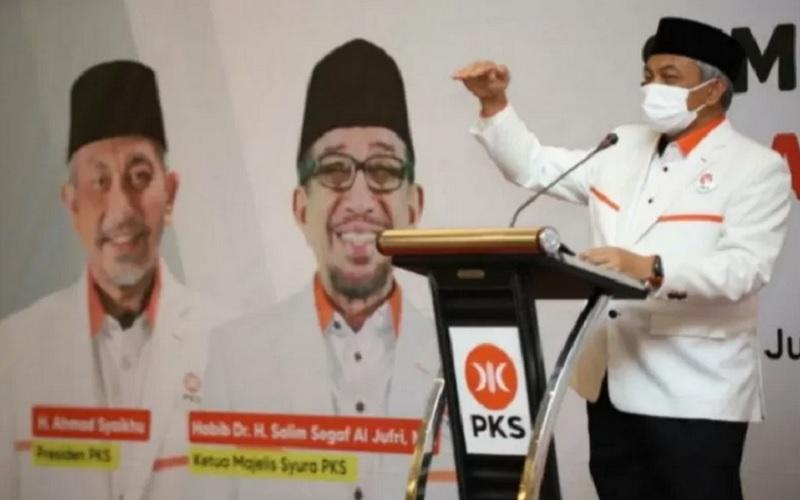 Presiden Partai Keadilan Sejahtera (PKS) Ahmad Syaikhu. - Antara\r\n
