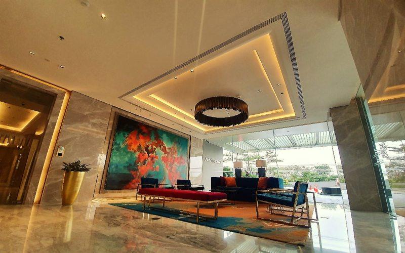 Lobi di salah satu manara apartemen di kawasan Ciputra International yang dikembangkan oleh PT Ciputra Development Tbk. (CTRA) dan berlokasi di kawasan Puri Indah, Jakarta Barat. - Istimewa