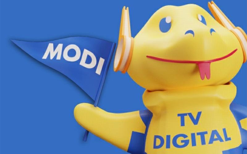 Maskot siaran TV digital Indonesia.  -  Dok. Istimewa