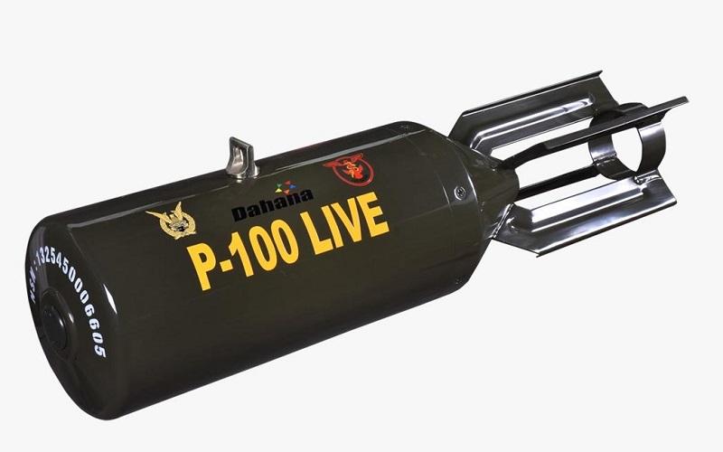 Bom P Series Dahana - Istimewa