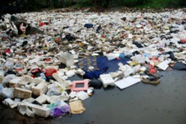 Tumpukan sampah - Ilustrasi