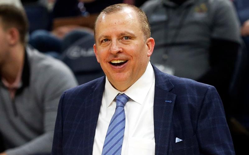 Tom Thibodeau, pelatih New York Knicks - NY Times