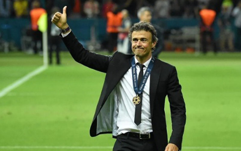 Pelatih Timnas Spanyol Luis Enrique. - UEFA.com