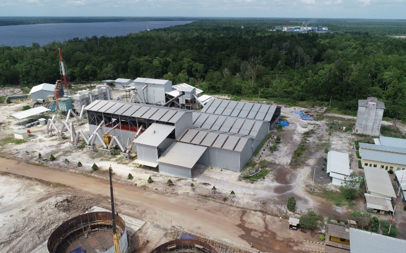 Ilustrasi: Smelter timbal PT Kapuas Prima Coal Tbk. - kapuasprima.co.id