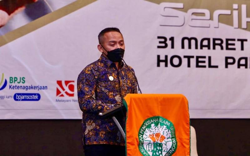 Ketua Gapki Riau Jatmiko K. Santosa  - Istimewa