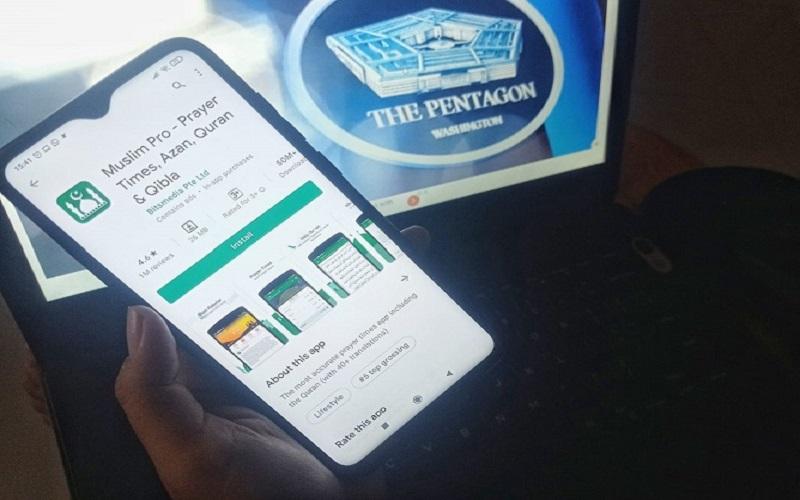 Aplikasi Muslim Pro diduga menjual data pribadi penggunanya kepada Militer Amerika Serikat. - Bisnis  -  Feni Freycinetia