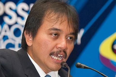 Roy Suryo, mantan Menteri Pemuda dan Olahraga (Menpora) - Antara