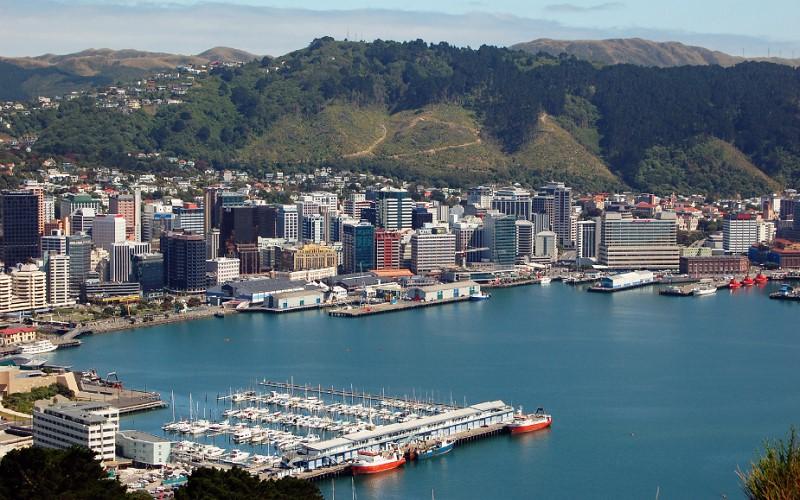 Suasana Auckland , Selandia Baru. - Antaranews.