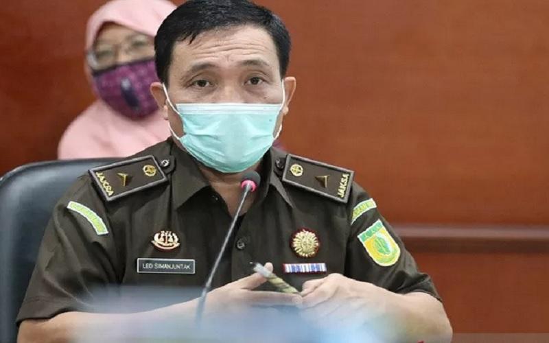 Kepala Pusat Penerangan Hukum Kejaksaan Agung Leonard Eben Ezer Simanjuntak. - Antara