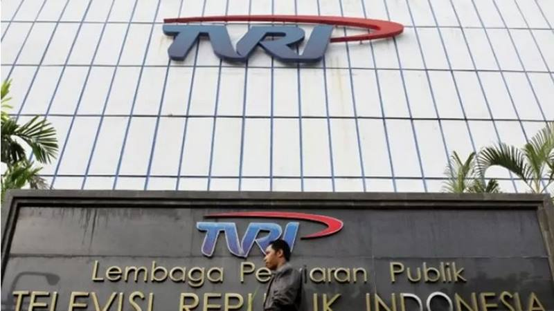 Gedung TVRI di Jakarta. - Antara
