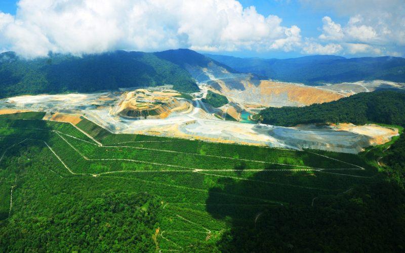 Area pertambangan PT Amman Mineral Nusa Tenggara. - Istimewa