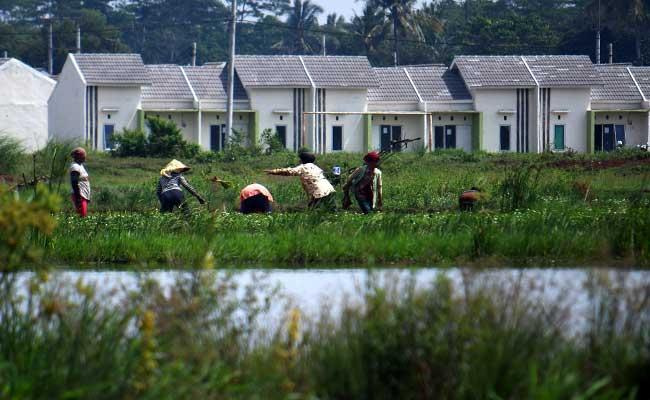 Ilustrasi pembangunan perumahan. - Bisnis.com