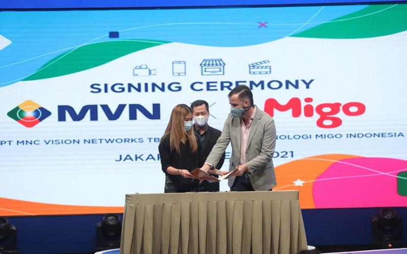 PT MNC Vision Networks Tbk. (IPTV) baru-baru ini menggandeng Migo Indonesia. -  Dok. Istimewa