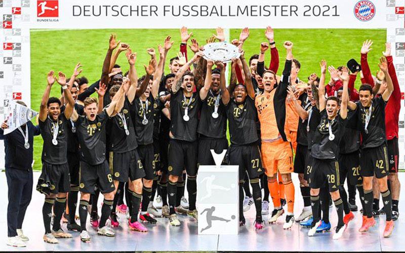 Bayern Munchen juara Bundesliga Jerman musim 2020-2021 siap menyumbang pemain di ajang EURO 2020. - Bundesliga.com