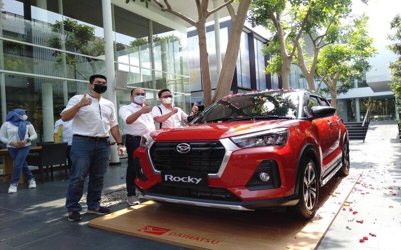 Peluncuran Daihatsu Rocky untuk wilayah Jateng dan DIY digelar di restoran S2, Jalan Sisingamangaraja, Kota Semarang, Kamis (10/6/2021). - Bisnis/Alif N.