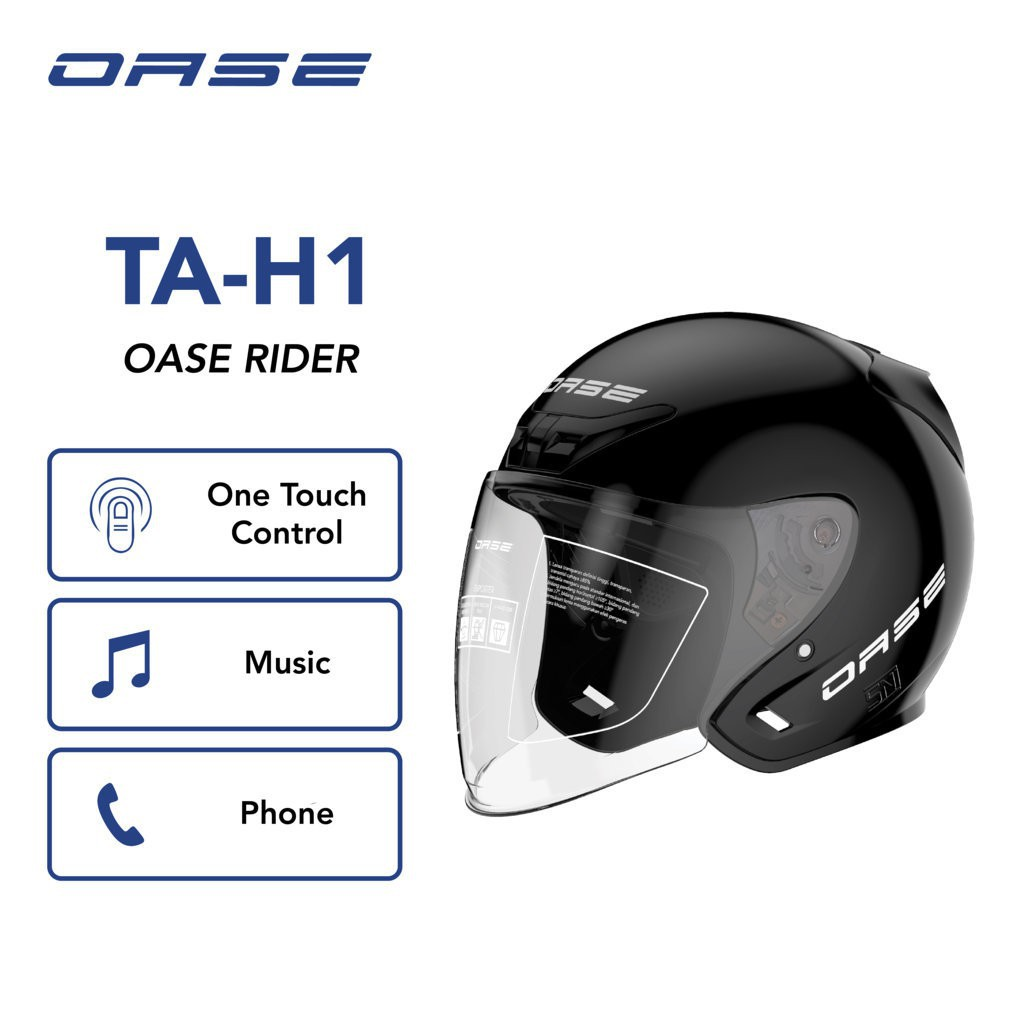 Helm bluetooth Oase