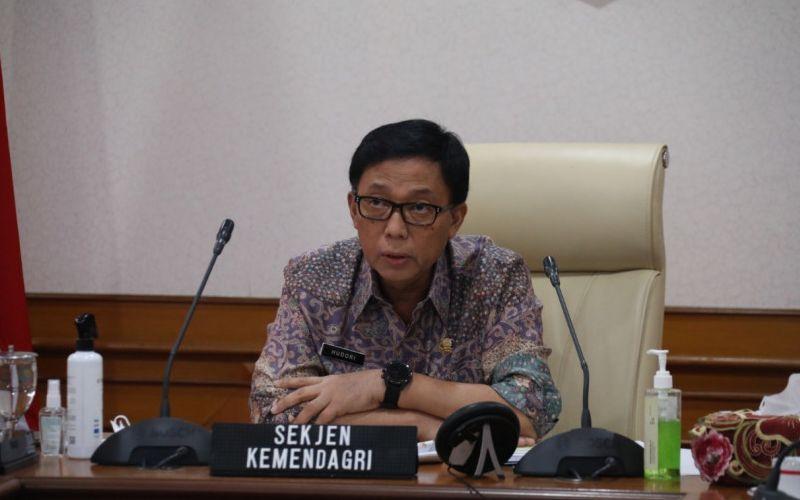 Sekretaris Jenderal (Sekjen) Kemendagri Muhammad Hudori / Istimewa