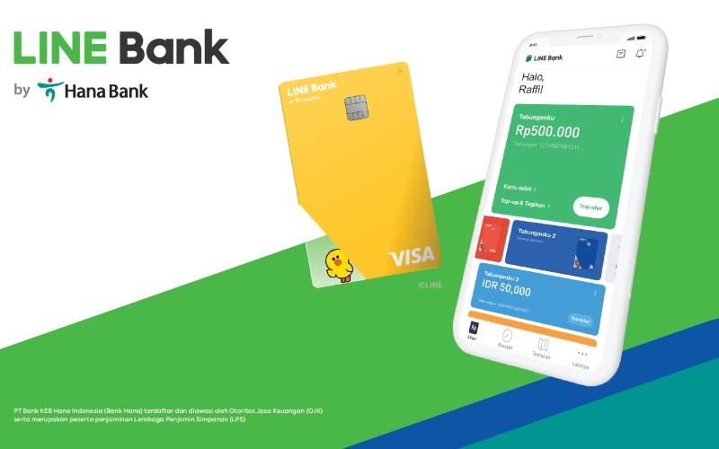 Line Bank by Hana Bank - Istimewa