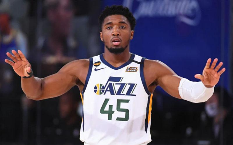 Guard Utah Jazz Donovan Mitchell - NBA.com