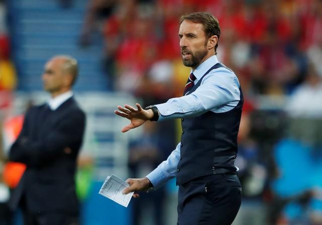 Pelatih Timnas Inggris Gareth Southgate - Reuters