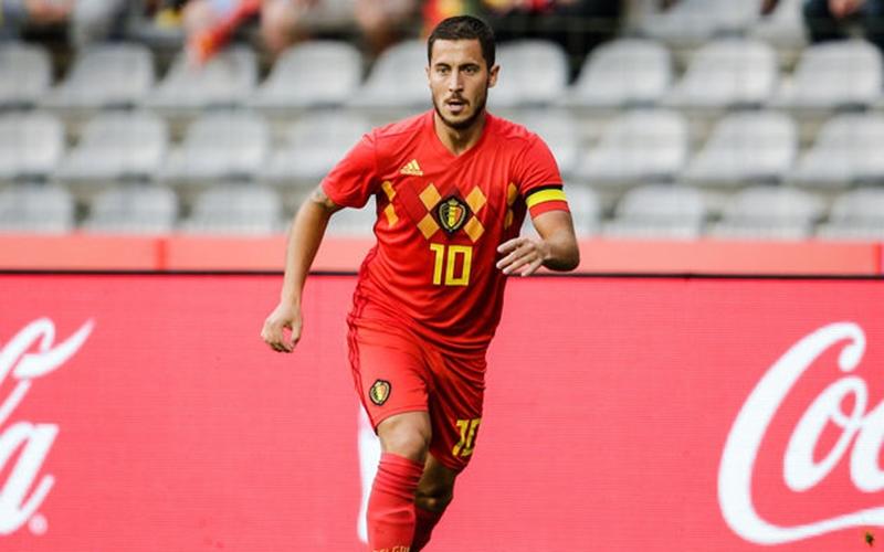 Pemain Belgia, Eden Hazard - 90Min