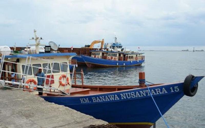 Ilustrasi pelayaran rakyat. - Dephub.go.id