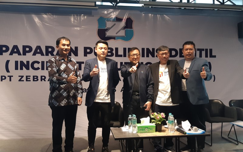 ZBRA Rudy Tanoe Borong Saham Zebra (ZBRA) Rp30,6 Miliar - Market Bisnis.com