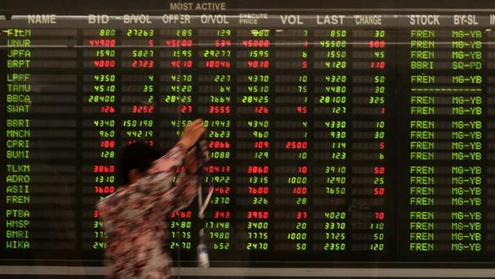 JPFA TIRA BBHI EDGE NOBU IHSG 10 Saham Top Losers Hari Ini, Senin 28 Juni 2021, JPFA, EDGE, BBHI Ambrol - Market Bisnis.com